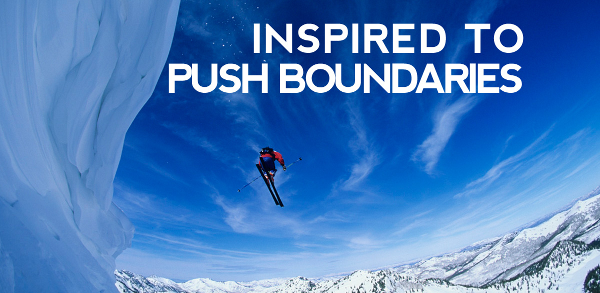 Inspired to Push Boundaries